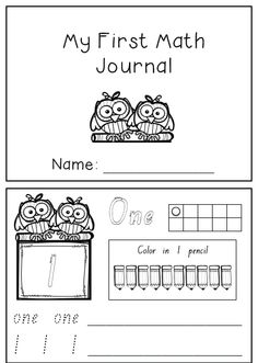 Help students settle into the first few weeks of school with this fun and simple daily math journal. Each day students practice writing and counting numbers from 1 to 10, and at the end of the third week receive a certificate congratulating them on finishing their first math journal!
