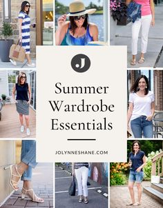 The spring-to-summer transition is much more subtle than winter-to-spring or summer-to-fall, but I still like to freshen up my wardrobe for the summer season, so I've updated my list of summer wardrobe essentials for 2021. Check out the post for fashion tips and tricks and see what items are a must-have for your summer wardrobe. Summer Wear, Spring Summer Fashion, Spring Outfits, Winter Outfits, Summer Wardrobe, My Wardrobe, Wardrobe Ideas, Autumn Summer, Fall
