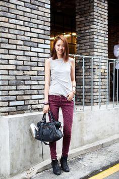 Streetstyle: Irene Kim, photographed by Nick Park for Jminism Korean Fashion Kpop, Korean Fashion Casual, Korean Street Fashion, 500 Calories, Caviar, Diana, Under Armour, Asian Street Style, Street Styles