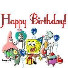 spongebob birthday SpongeBob Birthday Pinterest