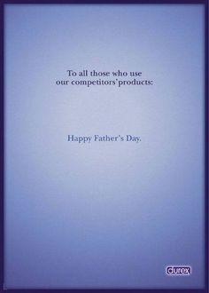Happy #fatherday ! #Pub #durex