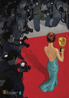 Illustrator Jonathan Burton was commissioned to produce artwork for the 2013 Film Awards tickets and brochure covers. Terry Pratchett Books, Penguin Modern Classics, Creative Review, Fantasy Paintings, Grid Design, Italian Artist, Film Awards, Canadian Artists, Print Pictures
