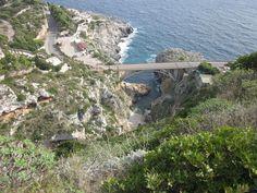 #MyPugliaExperience al ponte del Ciolo, presso Santa Maria di Leuca, su #pinterest con @osuomolomo