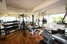 Work Out Room.