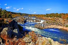Afternoon at the Great Falls
