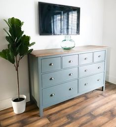 Ikea Home - Hemnes Chest of 8 Drawers Grey Hack furniture Shop for Furniture, Home Accessories & Ikea Furniture Makeover, Ikea Furniture Hacks, Upcycled Furniture, Home Furniture, Furniture Design, Ikea Dresser Makeover, Ikea Bedroom Furniture, Furniture Online, Ikea Hack Bedroom