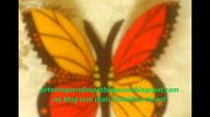borboletas de garrafas pet