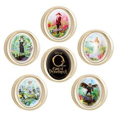 Amazon.com: Disney Store Oz The Great and Powerful 6 Pin Boxed Gift Set Limited Edition 250: Clothing