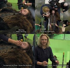 Image result for the hobbit behind the scenes funny moments