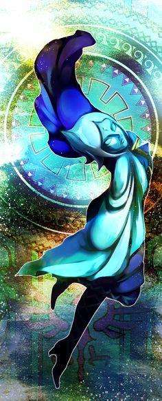 Fi, Hyrule Warriors / Zelda Musou artwork by まっちょー