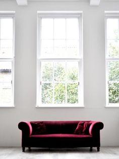 ruby red velvet #FW12 inspiration    J Logic via Sab Lo onto home design & decor