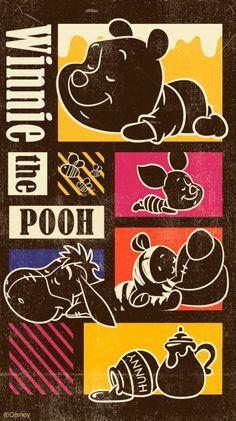 Winnie-the-Pooh Modern Art