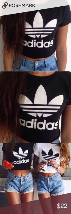 🚨NEW🚨 BLACK ADIDAS TREFOIL CROP TOP 100% BRAND NEW BLACK ADIDAS TREFOIL CROP TOP SIZE S(tag says M but runs small, definitely fits like S). Check my other listing Nike, adidas, forever 21, champion, converse , triangl , bikinis, hollister, American eagle, brandy Melville, Lacoste, too faced, Mac, clinique,Aeropostale, gap,Calvin Klein,ethika,tom,vans,coach,kate spade,Michael kors adidas Tops Crop Tops