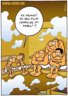 Lustig saunaregeln Hans erzählt:
