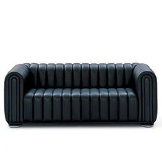 Wittmann Club 1910 Sofa - Style # 91025, Contemporary Leather Sofa & Leather Sectional Sofas | SwitchModern