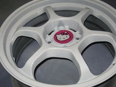 Hello Kitty Car Rims | Design » Hello Kitty Rims!