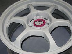 Hello Kitty Car Rims | Design » Hello Kitty Rims!