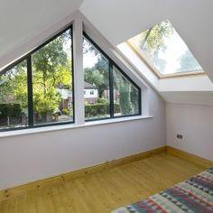 The Life-Changing Manchester Bungalow Dormers, Dormer Bungalow, Bungalow Interiors, Bungalow Extensions, Bungalow Loft Conversion, Loft Spaces, Bungalow Conversion, Gable Window, Bungalow Design