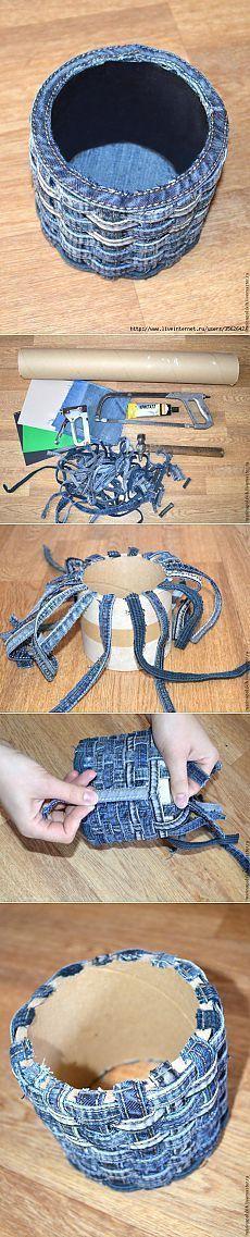 Ako urobiť si šálku brutálnych džínsy