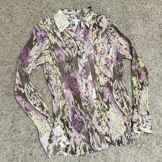 "Selling this ""APT 9 Medium Button Down Blouse Shirt"" in my Poshmark closet! My username is: mtnoonan. #shopmycloset #poshmark #fashion #shopping #style #forsale #Apt. 9 #Tops"