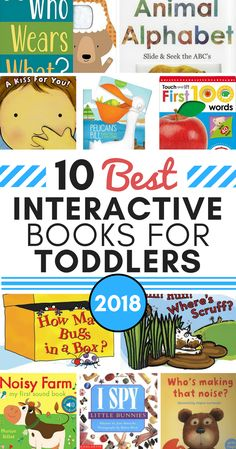 10 Best Interactive Books for Toddlers in 2018 (make learning more fun)