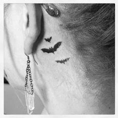 Sleek Behind The Ear Tattoo Ideas