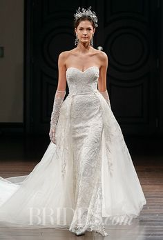 Naeem Khan Wedding Dresses - Spring 2016 - Bridal Runway Shows - Brides.com | Brides