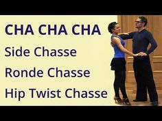 How to Dance Cha - Basic Routine 5 - YouTube