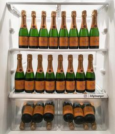 Alcoholic Drinks To Make, Veuve Clicquot, Wine Rack, Bottle, Happy Hour, Instagram, Whiskey, Favorite Things, Campaign