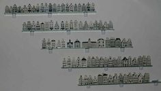 "The complete set of KLM delft houses, including the ""special"" items given to VIP's and newlyweds"