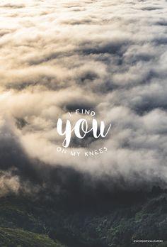 """Find You On My Knees"" by Kari Jobe // Phone format // Like us on Facebook www.facebook.com/worshipwallpapers // Follow us on Facebook Cover @worshipwallpapers"