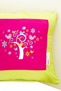 Secret Garden Scatter Cushion #cushion#scatter#design#secretgarden#girl#baby#toddler#pink#bedding#linen