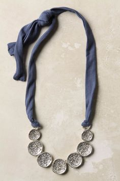 variation on the t-shirt necklaces that are everywhere $48
