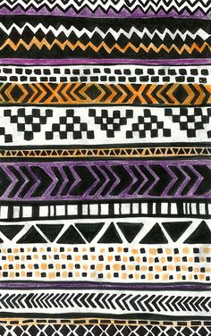 Drawing pattern … Ethnic inspiration