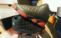 Nike Air Jordan XIII 13 Retro BLACK GYM RED  DIRTY BRED PLAYOFF banned i ovo xii