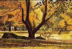 @seccogladys: @TwoReaders Si diresse alla volta del parco spoglio. #Ilcommesso Harold Haltman, October