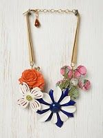Free People-Inspired Enamel Flower Necklace