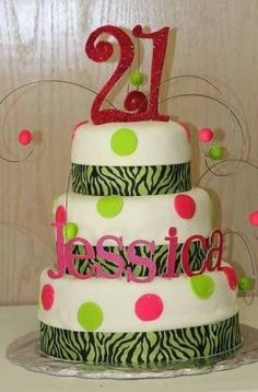 21st Birthday Cake Ideas. LMAO ITS MEANT TO BE! ;) already has my name on it