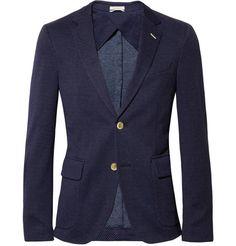 Gant Rugger Jacquard Woven-Cotton Blazer | MR PORTER