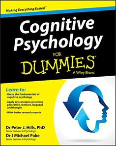 Jul/19 #Kindle US #eBook Daily #Deal Cognitive Psychology For Dummies (For Dummies (Lifestyle)) by Peter J. Hills, Michael Pake #Cognitive #Psychology #Behavioral #Sciences #Science #Nonfiction #Medical #Math #ebooks #book #books #deals #AD