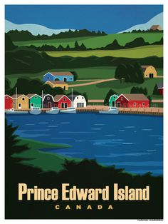 Vintage Travel Image of Prince Edward Island Poster - Browse all products in the Travel Posters - World Destinations category from IdeaStorm Studio Store. London Poster, Road Trip, National Park Posters, Prince Edward Island, Travel Alone, Vintage Travel Posters, Canada Travel, Solo Travel, Travel Pictures
