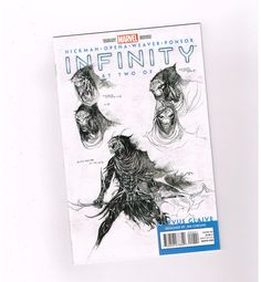INFINITY #2 Limited to 1/50 design sketch variant by Jim Cheung! NM http://www.ebay.com/itm/-/301237793018?roken=cUgayN