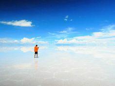Salar de Uyuni , Bolivia. Future husband, please propose to me here❤️