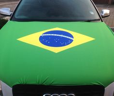 Our Brazil Car Bonnet Flag is the perfect addition to your car so that you can fly your colours! So if your feeling patriotic, buy your flag and hold it high!