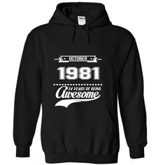 Oct-81 T-Shirts, Hoodies. BUY IT NOW ==► https://www.sunfrog.com/States/October-1981-4764-Black-Hoodie.html?id=41382
