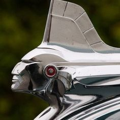 1951 Pontiac Indianhead Hood Ornament...Beep Beep.....Re-pin..Brought to you by #HouseofInsurance #Car ins #InsuranceAgency in Eugene OR