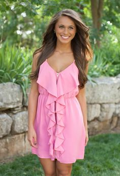 The Pink Lily Boutique - Heart Of It All Pink Dress, $39.00 (http://thepinklilyboutique.com/heart-of-it-all-pink-dress/)