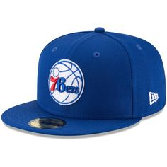 newest 2495b f2183 Philadelphia 76ers New Era 2018 Playoffs 59FIFTY Fitted Hat - Royal   Philadelphia76ers Snapback Hats,