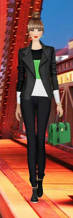 Covet Fashion Game. Look: Waibaidu Bridge
