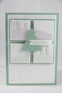 StampinFantasy: Ganz verschneit Holiday Cards, Christmas Cards, Christmas Ornaments, Holiday Decor, Stampin Up, Winter, Home Decor, Stamping, Crafting